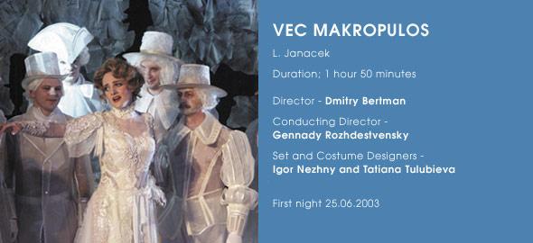 Věc Makropulos, Helikon-Opera